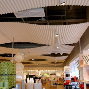 Corrugated Acoustical Ceilings - MC1