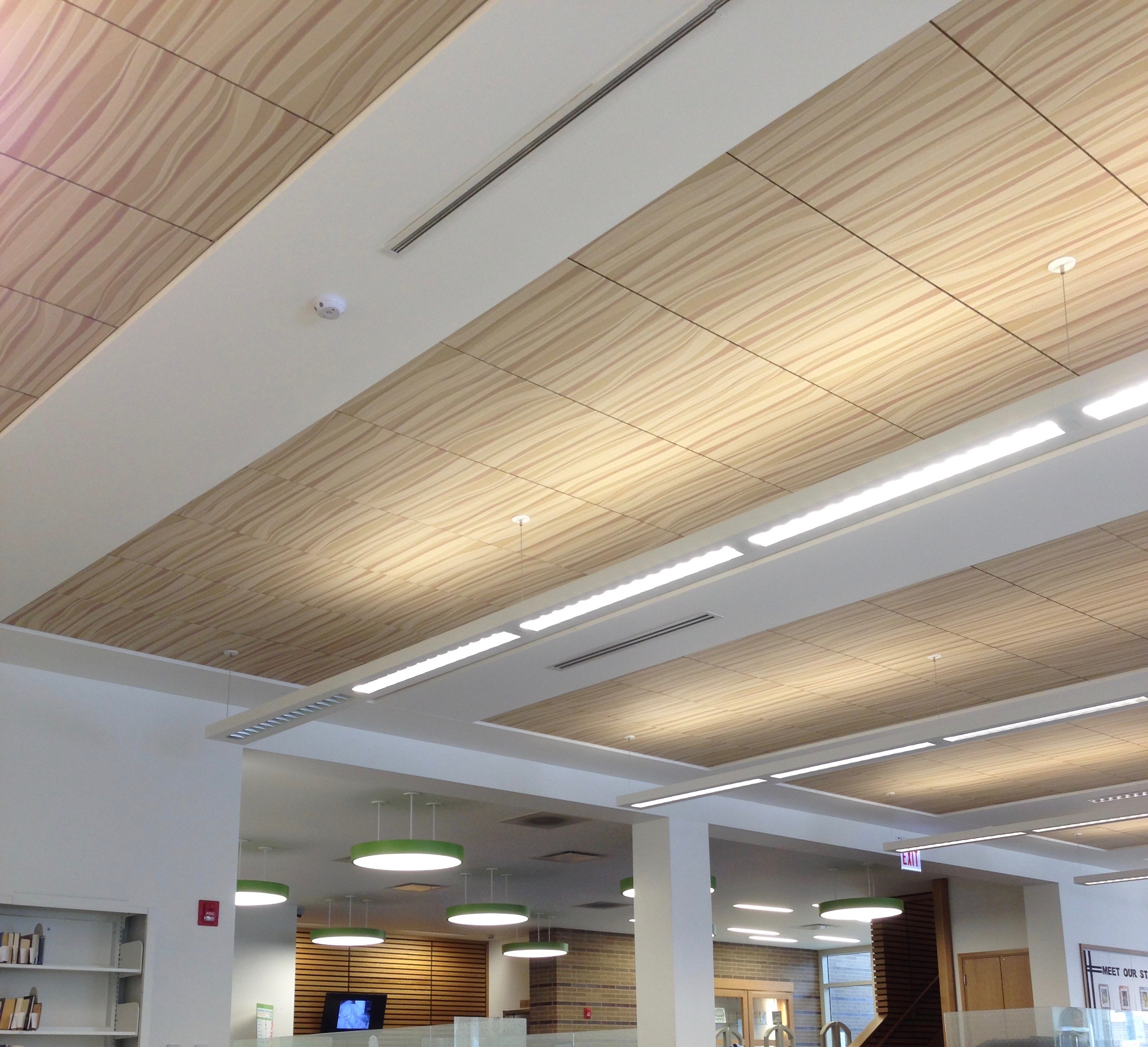 Techstyle Ceiling By Hunter Douglas Used Arrangement With All Rights Reserved