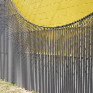 Perforated Corrugated Metal - EC4
