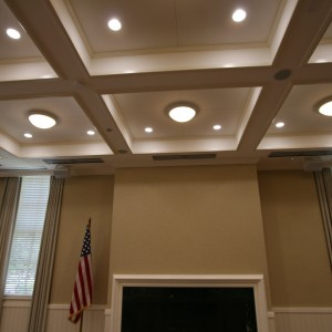 Fabric Wrapped Ceiling Panels - FP7