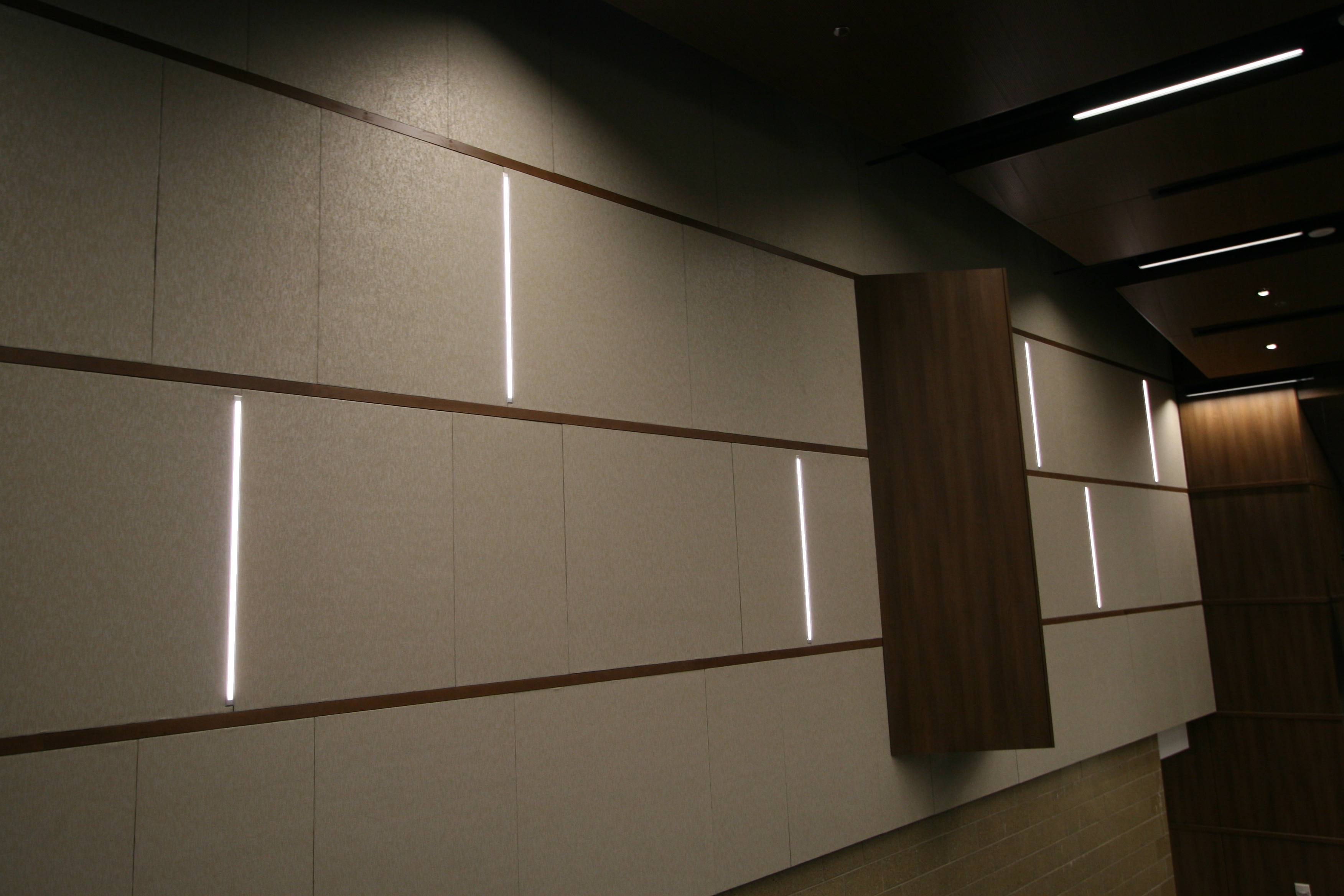 Fabric Covered Wall Panels : Fabric wrapped acoustical panels mauinc
