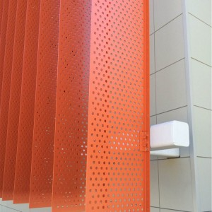 Perforated Sunshades - EC3
