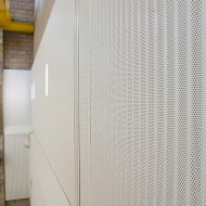 Corrugated Metal Acoustical Wall Baffles - IA6