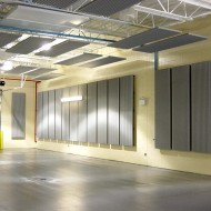 Corrugated Metal Acoustical Wall Baffles - IA2