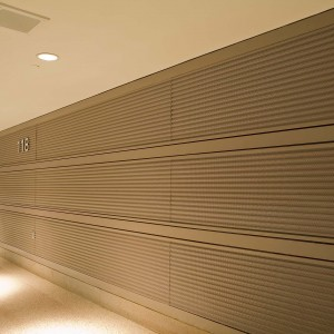 Corrugated Acoustical Wall Panels - MW6