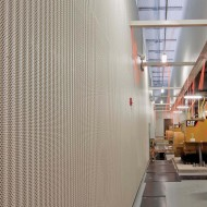 Corrugated Metal Acoustical Wall Panels - IA4