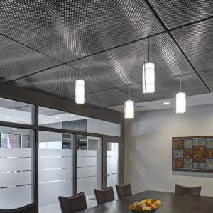 Woven Stainless Steel Ceiling Panels - ©2009 Alain Jaramillo - SM4