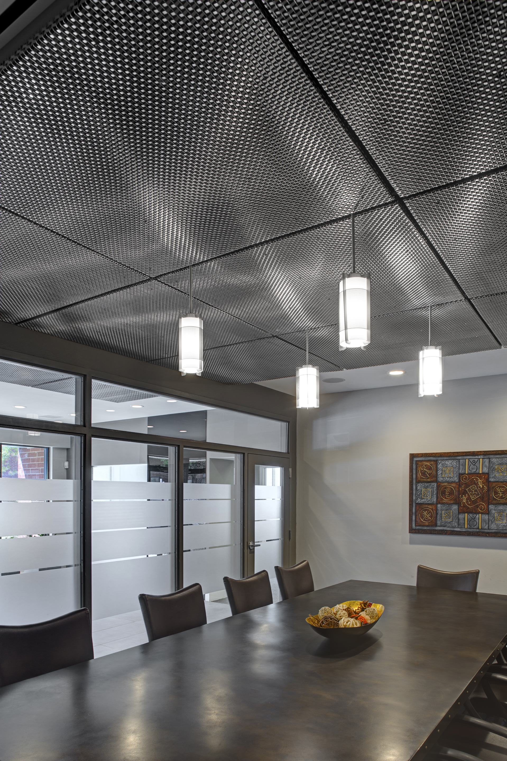 woven stainless steel ceiling panels 2009 alain jaramillo sm4