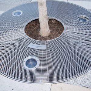 Stainless Tree Grating - SG7
