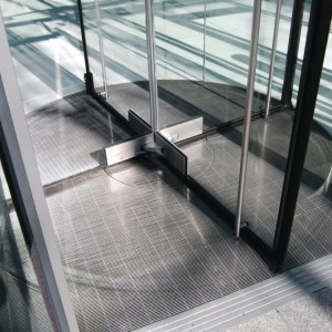 Stainless Revolving Door Grating - SG2
