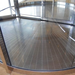 Stainless Revolving Door Grating - SG1